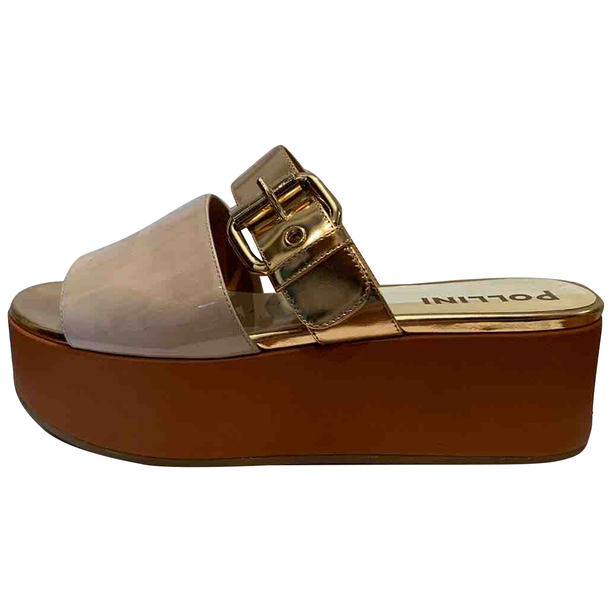 Pollini \N Multicolour Leather Sandals for Women 38.5 EU