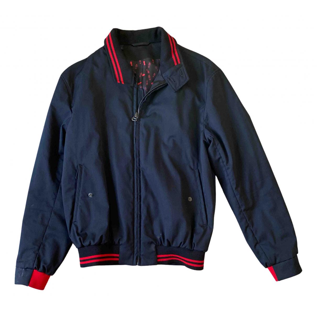 Lanvin N Navy Wool jacket  for Men 48 FR