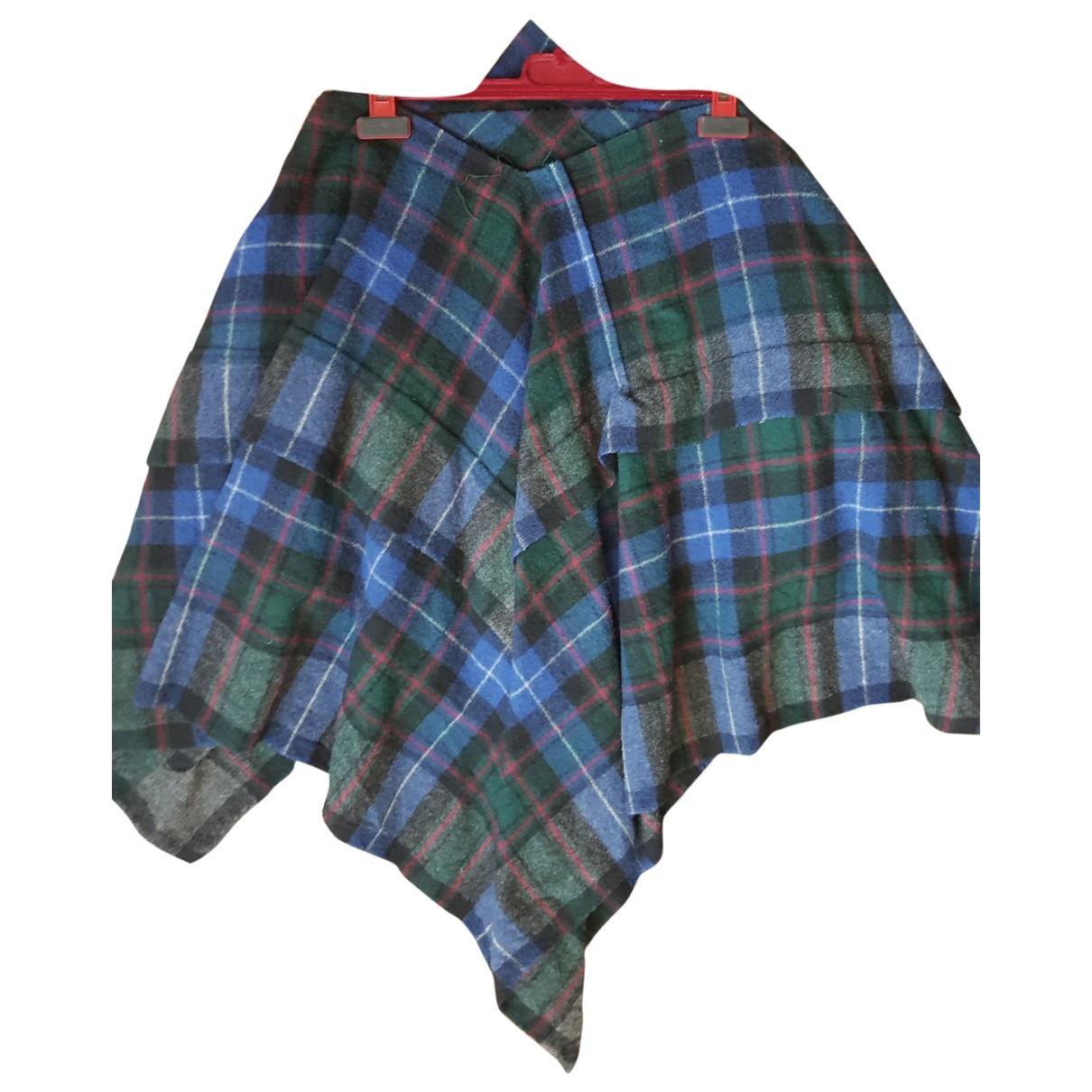 Comme Des Garcons \N Blue Wool skirt for Women S International