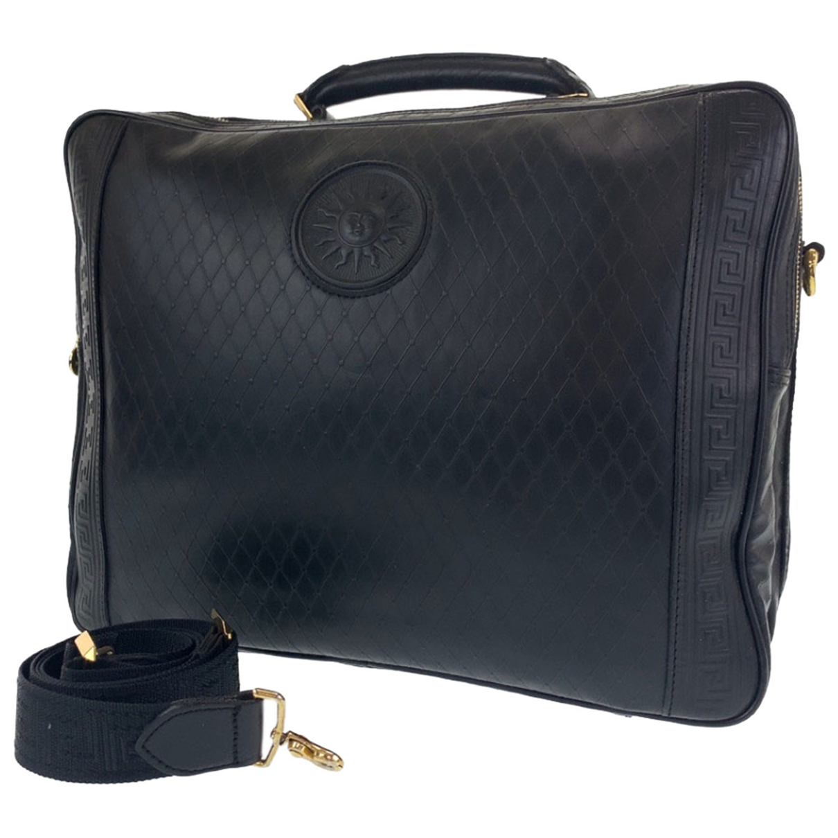 Gianni Versace N Leather bag for Men N
