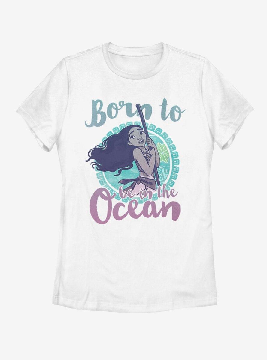 Disney Moana Ocean Girl Womens T-Shirt