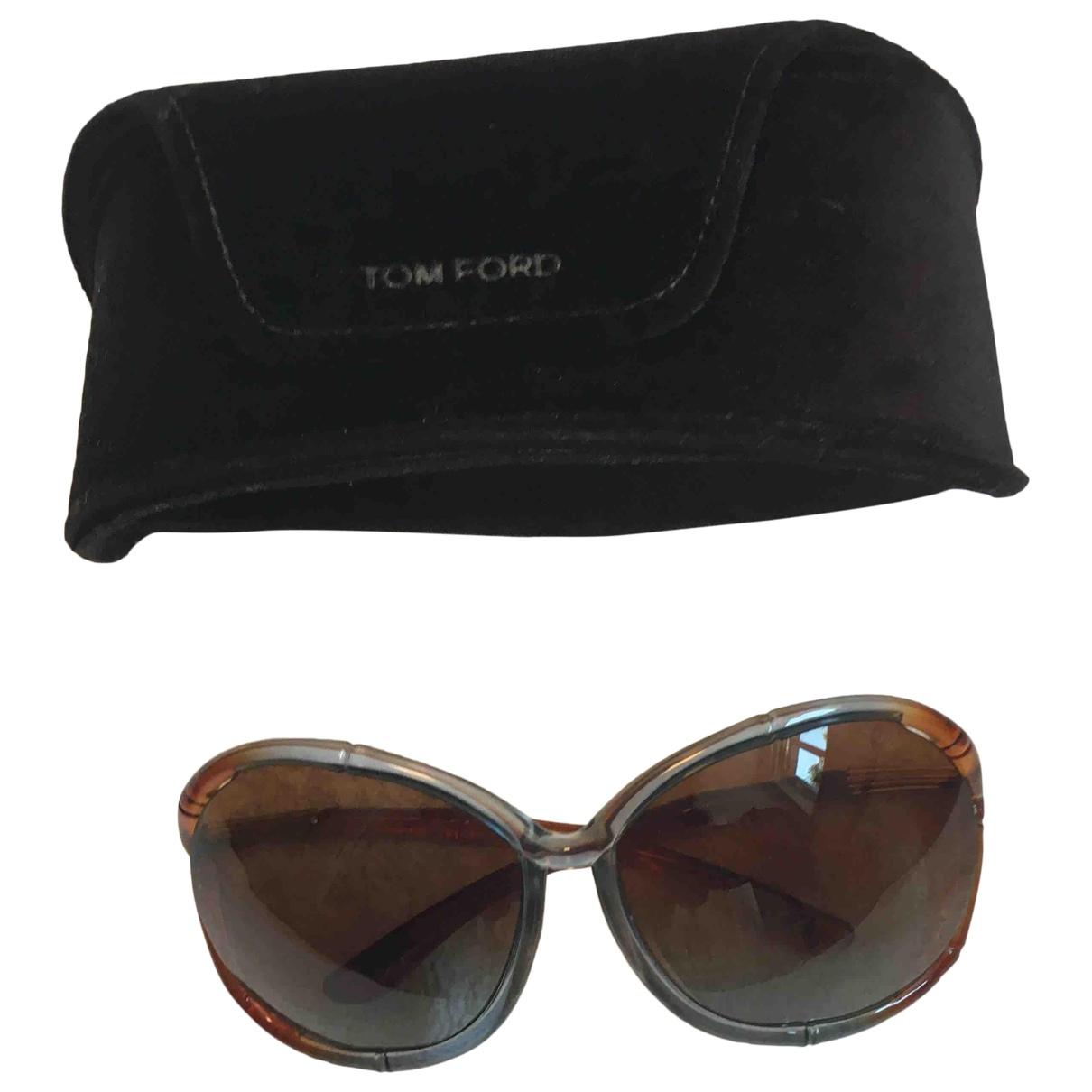 Tom Ford - Lunettes   pour femme - marron