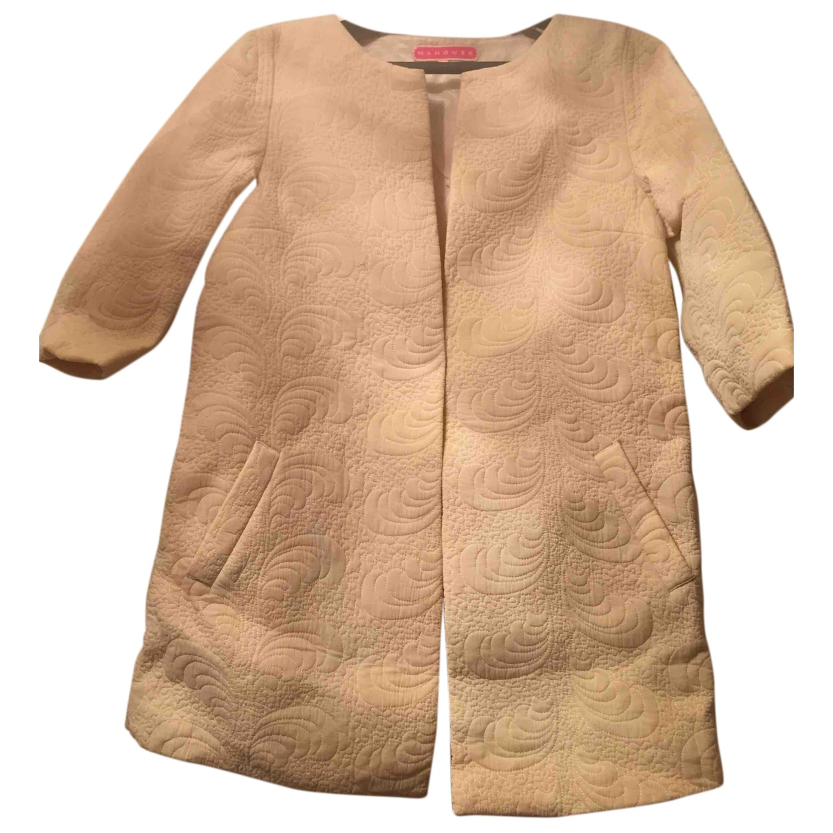 Manoush N Beige Cotton jacket for Women 40 FR