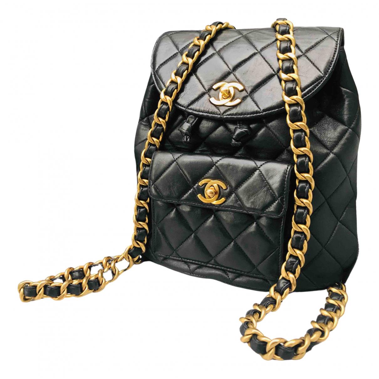Mochila Duma de Cuero Chanel