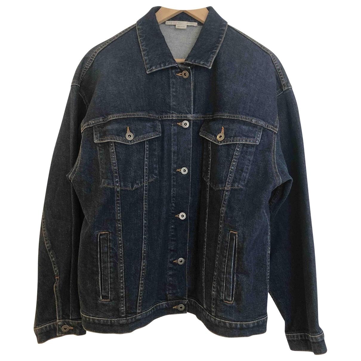 Stella Mccartney \N Jacke in  Blau Denim - Jeans