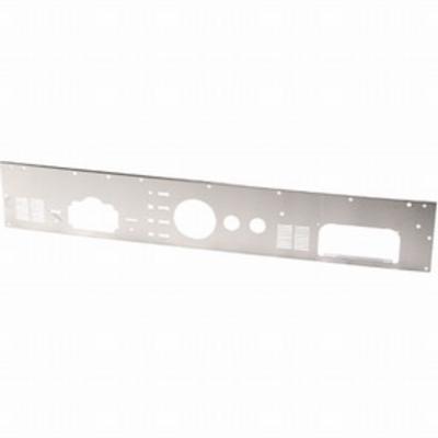 Kentrol Dash Panel with Radio Opening (Brushed) - 30565
