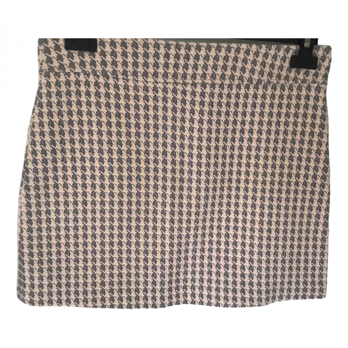 Non Signé / Unsigned \N Pink Cotton skirt for Women 36 FR