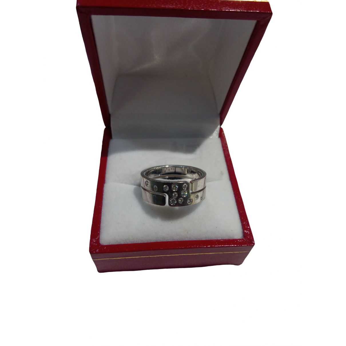 Dinh Van Seventies Ring in  Silber Weissgold