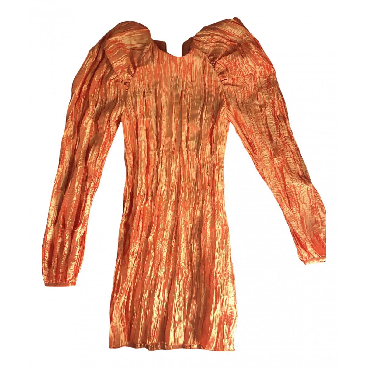 Rotate \N Kleid in  Orange Polyester