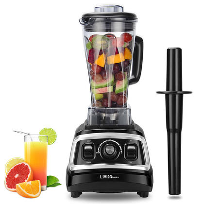 Professional Blender, Smoothies Mixer, Nutrient Extractor, Powerful 1500W, 70oz - LIVINGbasics™