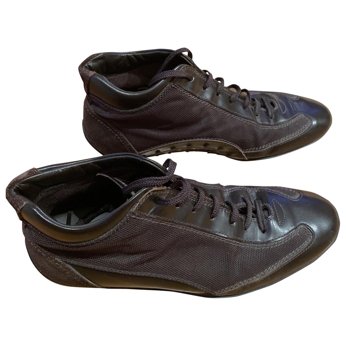 Tods \N Sneakers in  Braun Leder
