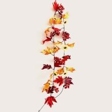 1pc Artificial Maple Leaf Vine