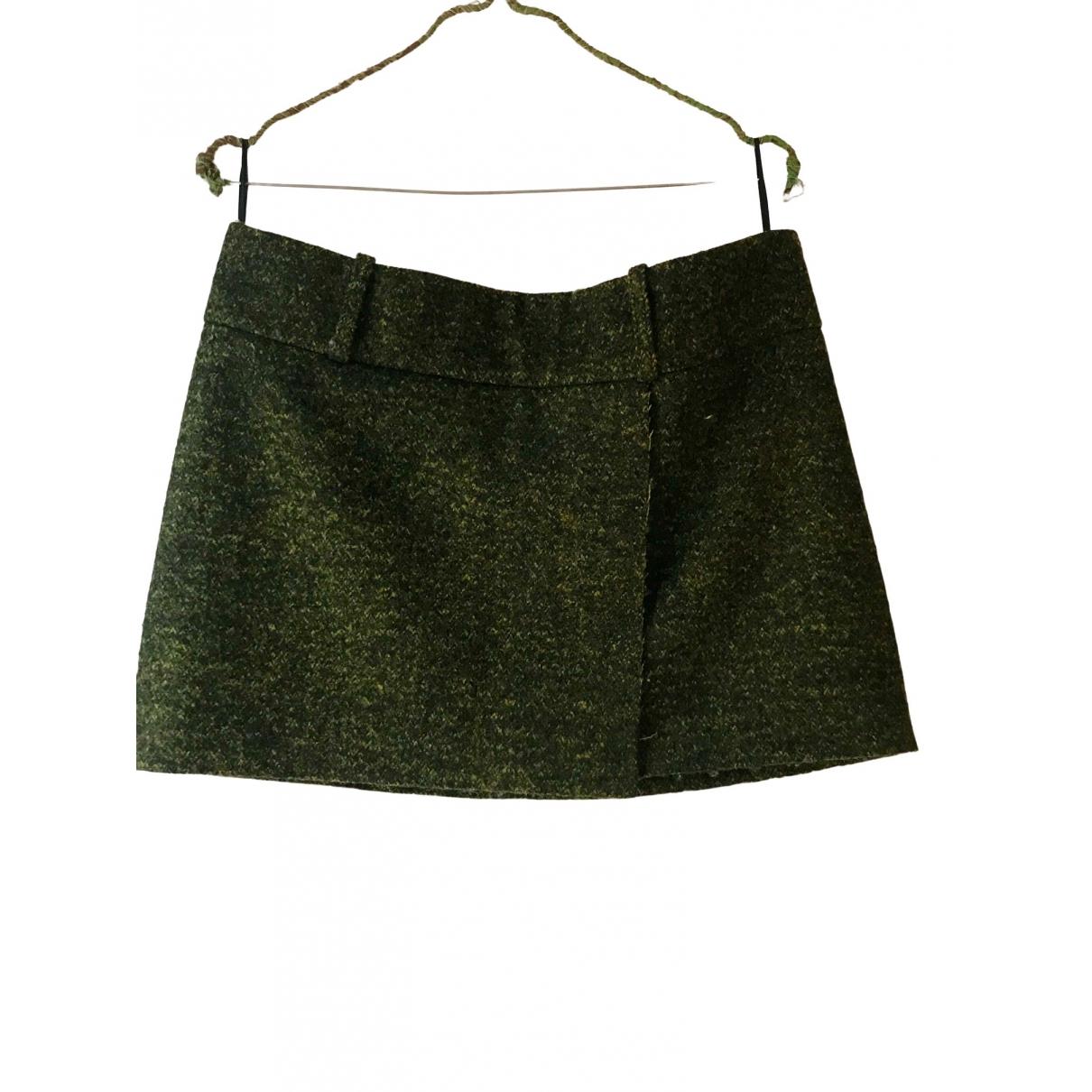Acne Studios \N Green Wool skirt for Women 38 FR