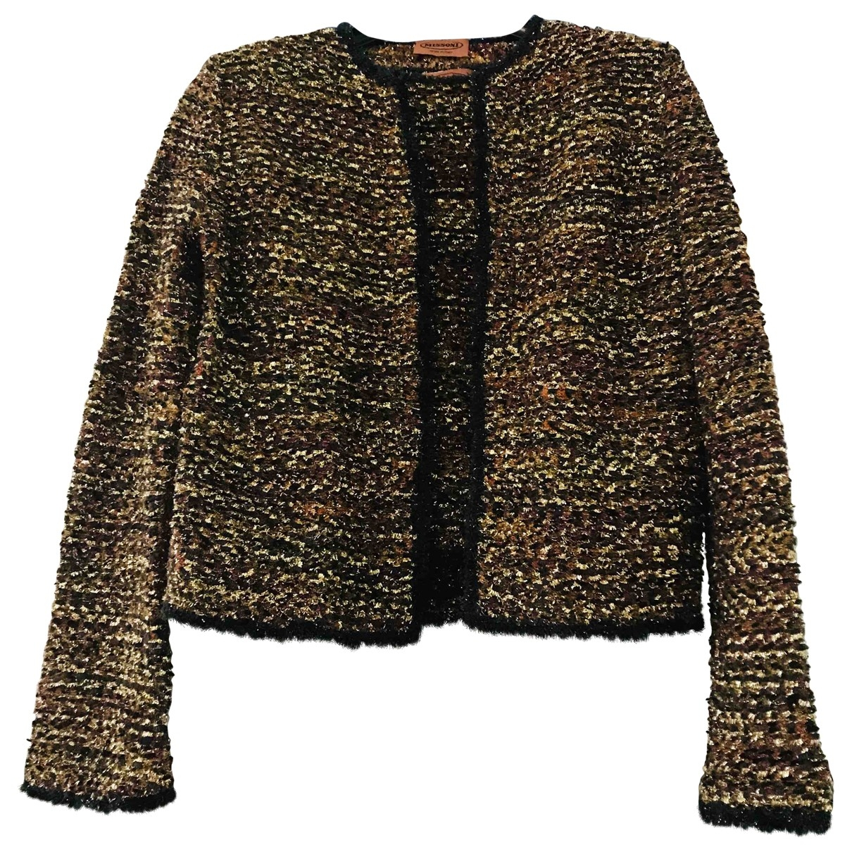 Missoni - Pull   pour femme en laine - metallise