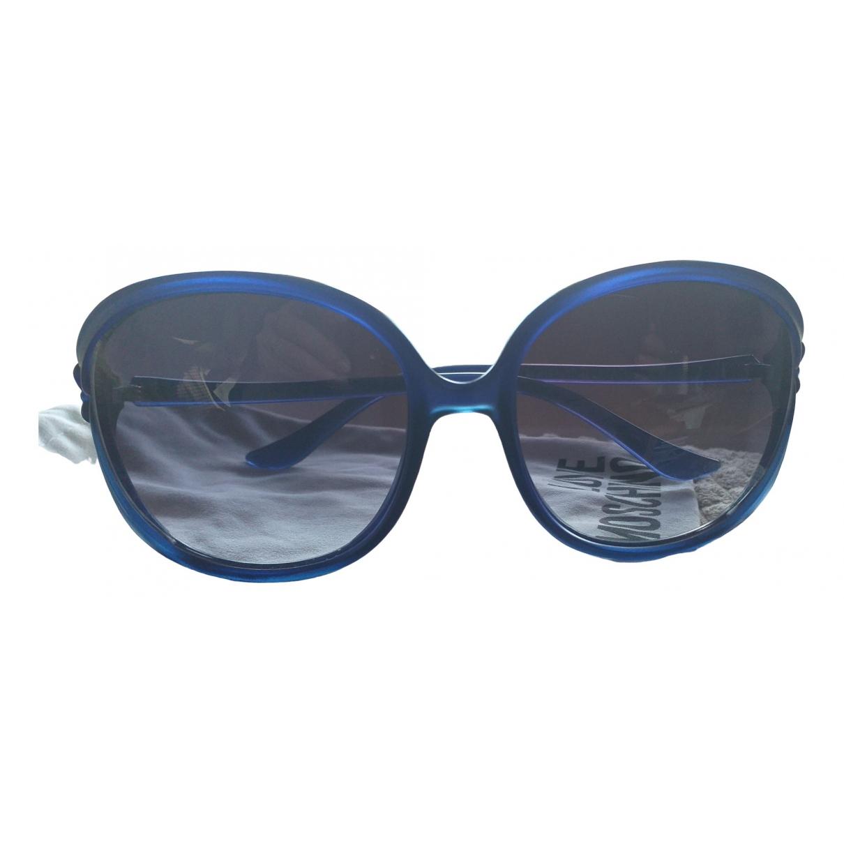 Moschino \N Blue Sunglasses for Women \N