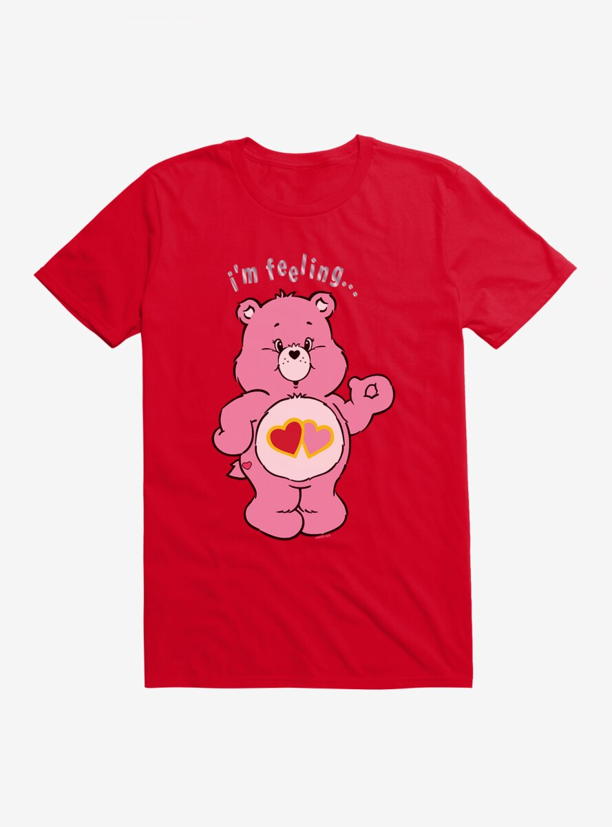 Care Bears Love A Lot Bear Feeling T-Shirt