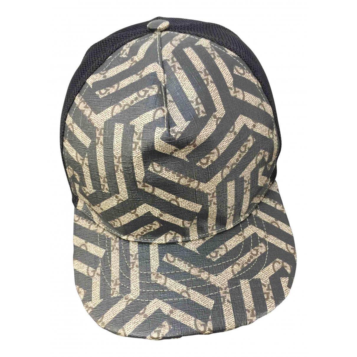 Gucci - Chapeau & Bonnets   pour homme en toile - multicolore