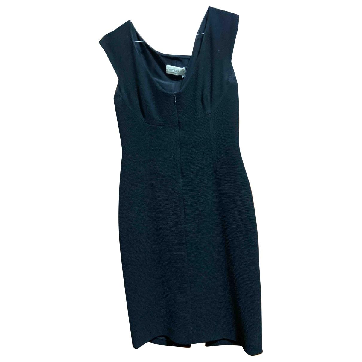 Gio Guerreri - Robe   pour femme en laine - noir