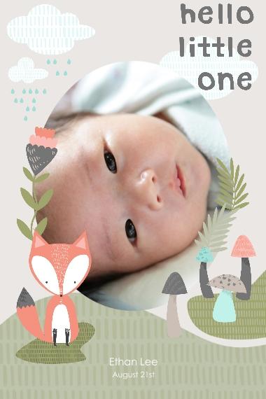 Baby + Kids 20x30 Poster(s), Board, Home Décor -Little Fox