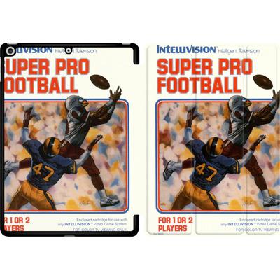 Apple iPad 9.7 (2018) Tablet Smart Case - Super Pro Football von Intellivision®