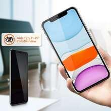 1pc Anti-peep iPhone Screen Protector