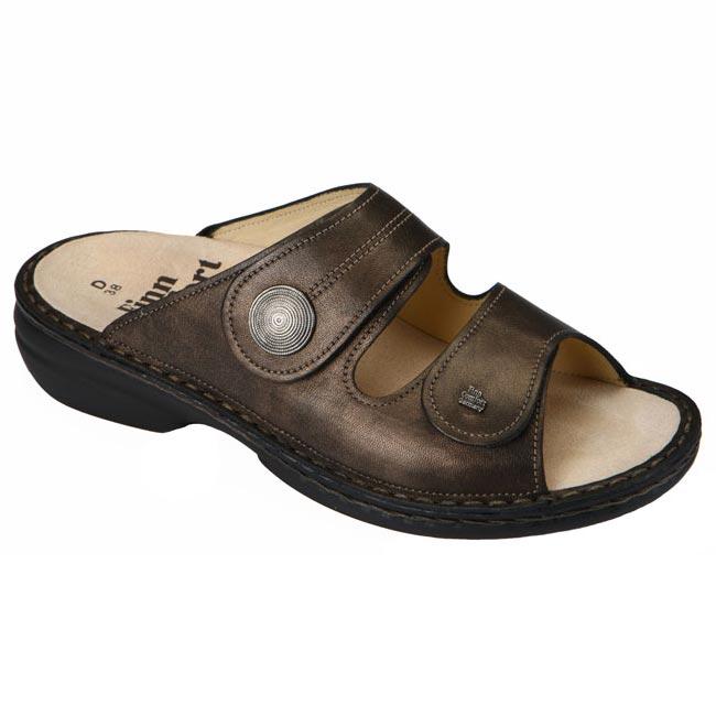 Finn Comfort Sansibar Cigar Leather Soft Footbed 43