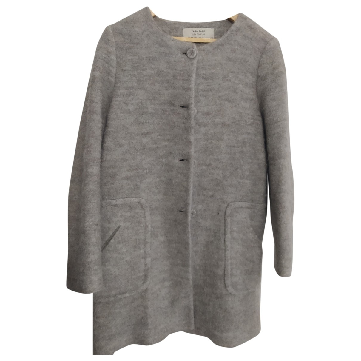 Zara \N Maentel in  Braun Polyester