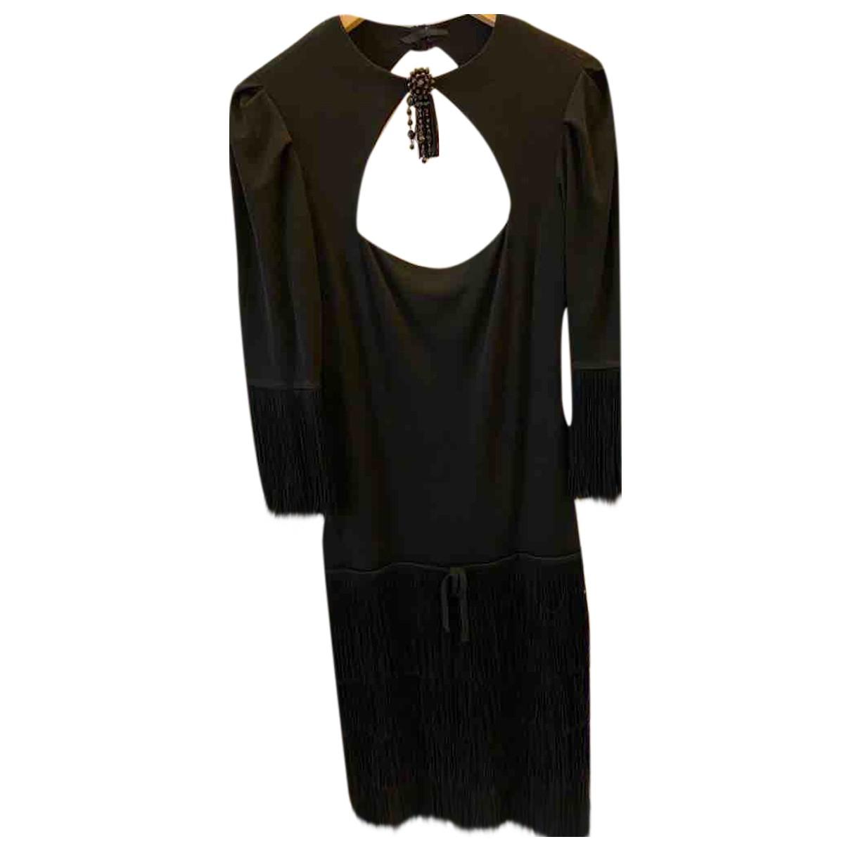 Loris Azzaro - Robe   pour femme en soie - noir