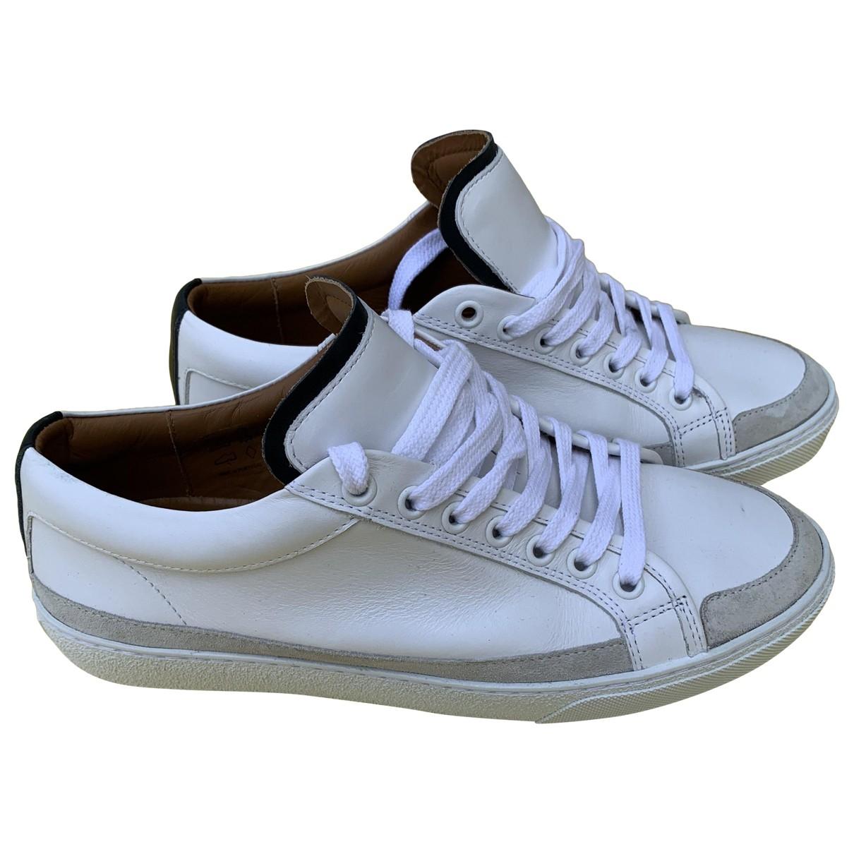 Balibaris - Baskets   pour homme en cuir - blanc