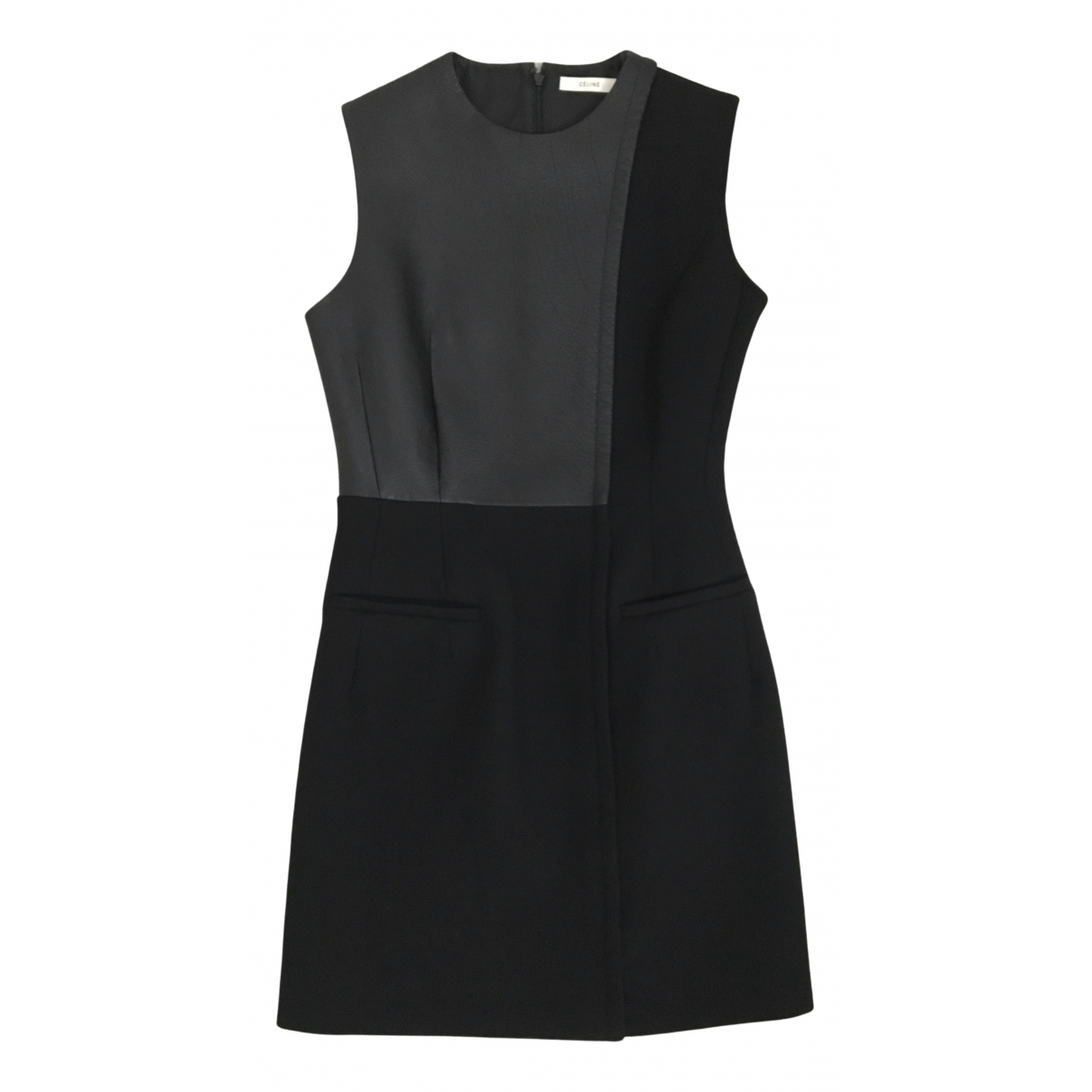 Celine \N Black Wool dress for Women 36 FR