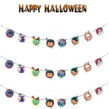 1pc Halloween Decorative Paper Banner