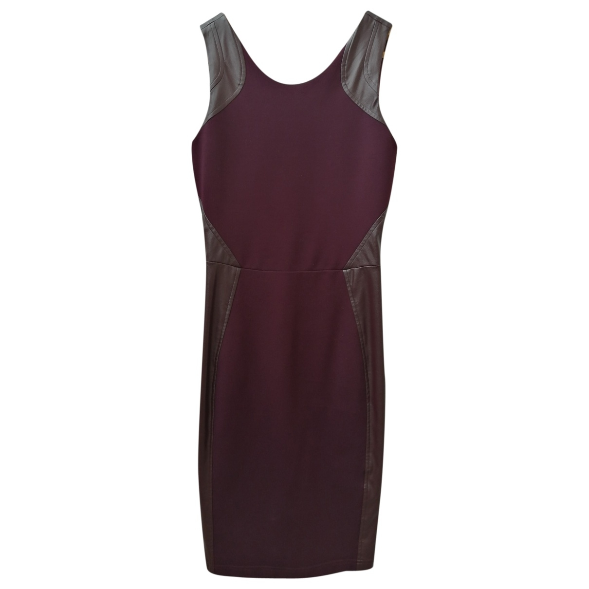 Non Signé / Unsigned \N Purple dress for Women XS International
