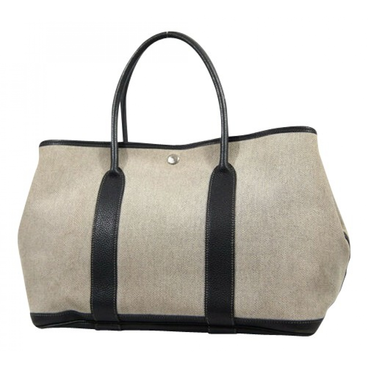 Hermès Garden Party Beige Cloth handbag for Women \N
