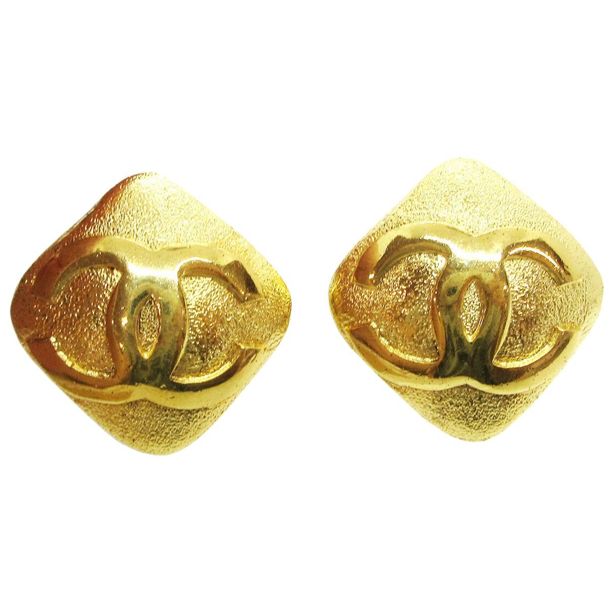 Chanel - Boucles d'oreilles   pour femme en metal