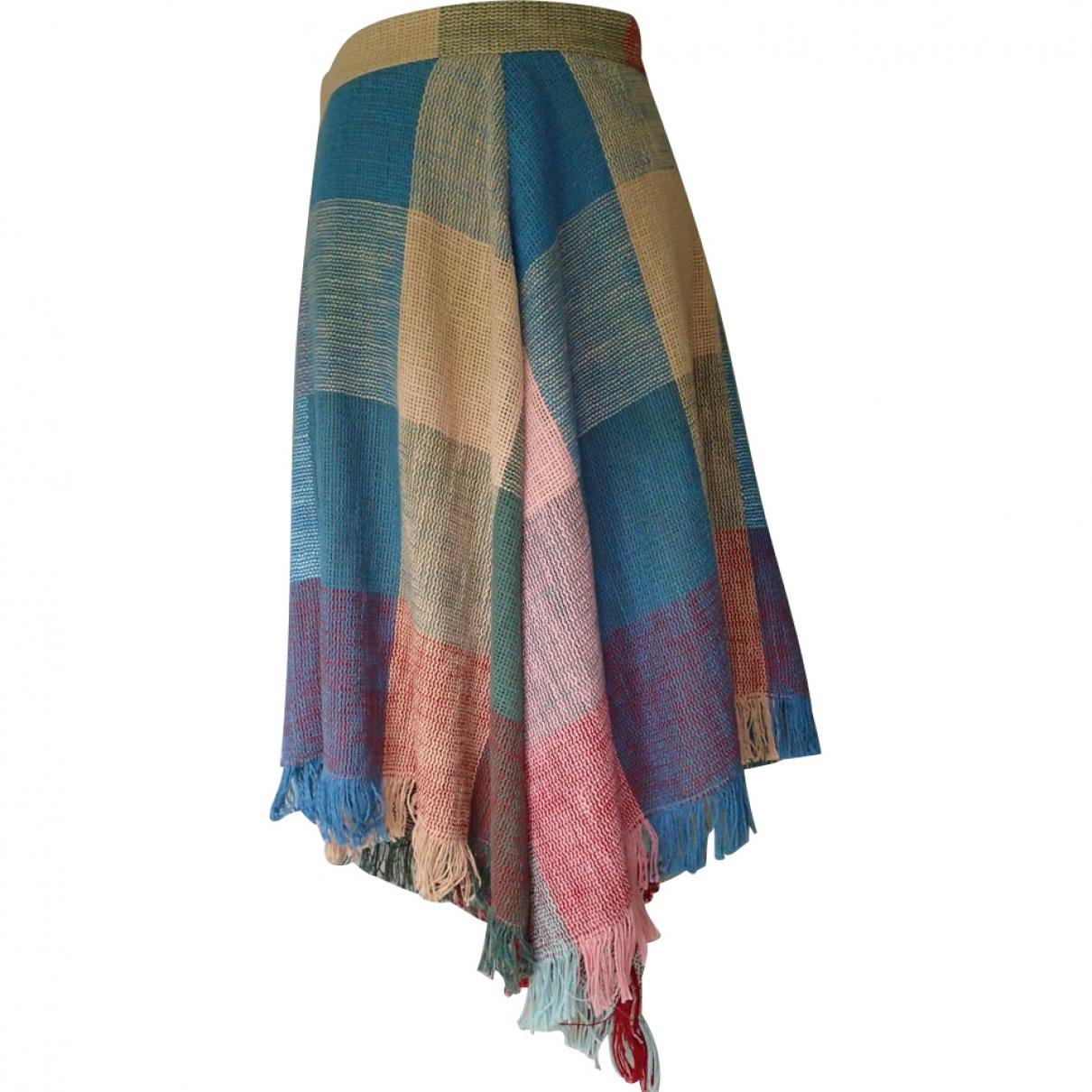 Chloé \N Multicolour Cotton skirt for Women 40 FR