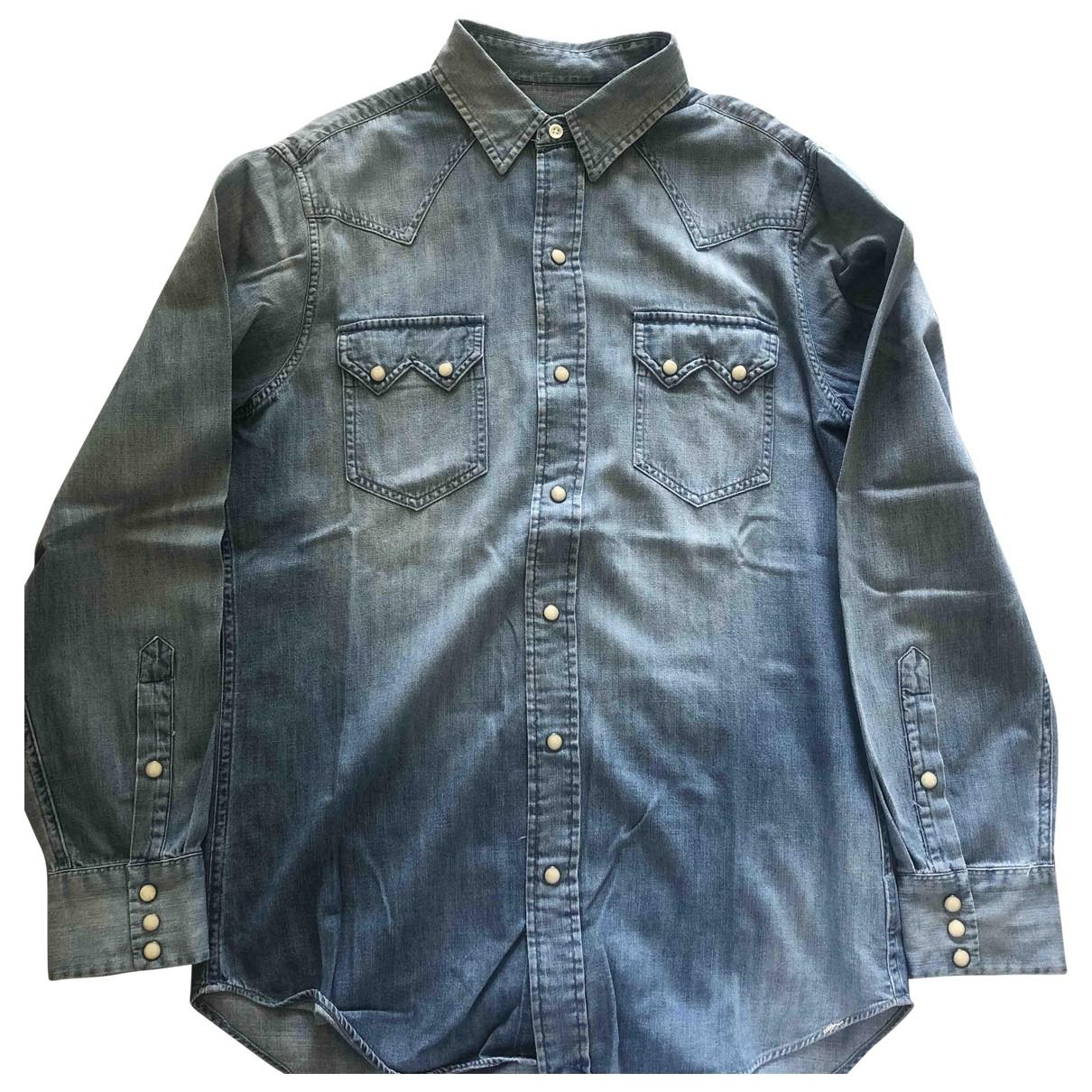 Polo Ralph Lauren - Chemises   pour homme en denim - bleu