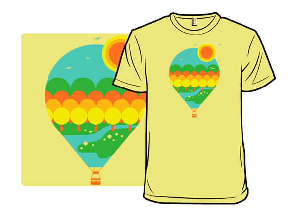 Autumn From Above T Shirt
