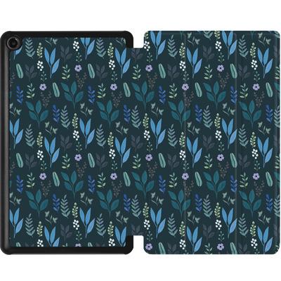 Amazon Fire 7 (2017) Tablet Smart Case - Blue Foliage von Iisa Monttinen