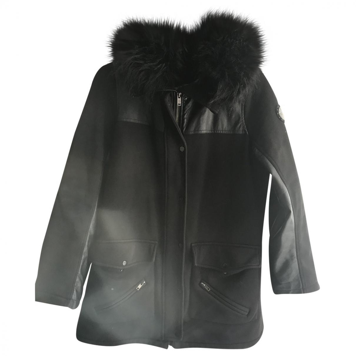 Ikks \N Black coat for Women 38 FR