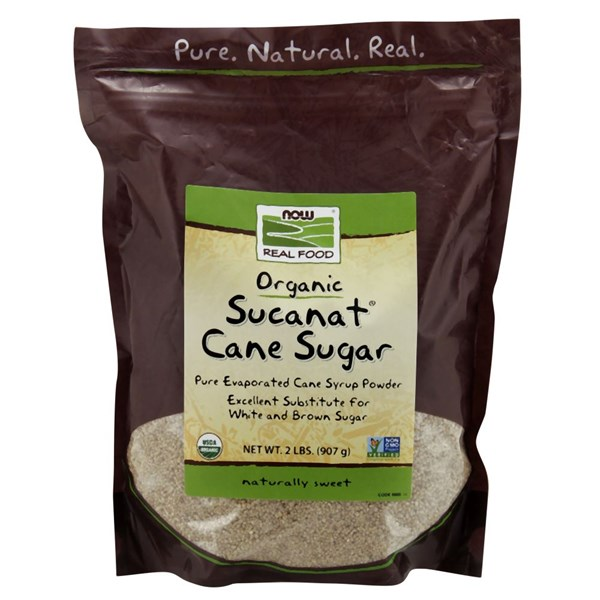 Sucanat Organic 2 lb by Now Foods