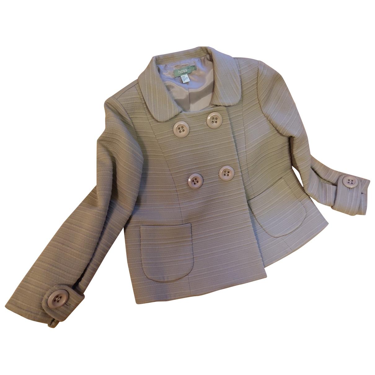 Hoss Intropia - Veste   pour femme en laine - gris