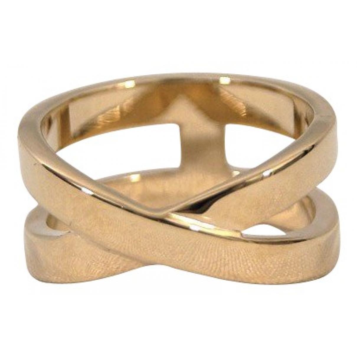 Hermes \N Ring in  Gelb Gelbgold