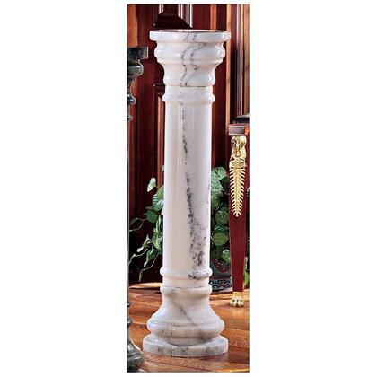 PO8040W White 40 In Marble Column In
