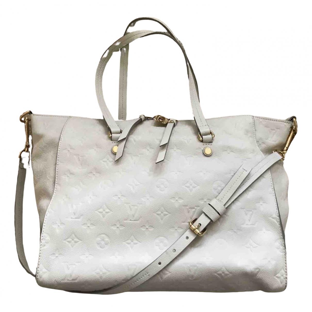 Louis Vuitton Bastille Beige Cloth handbag for Women N