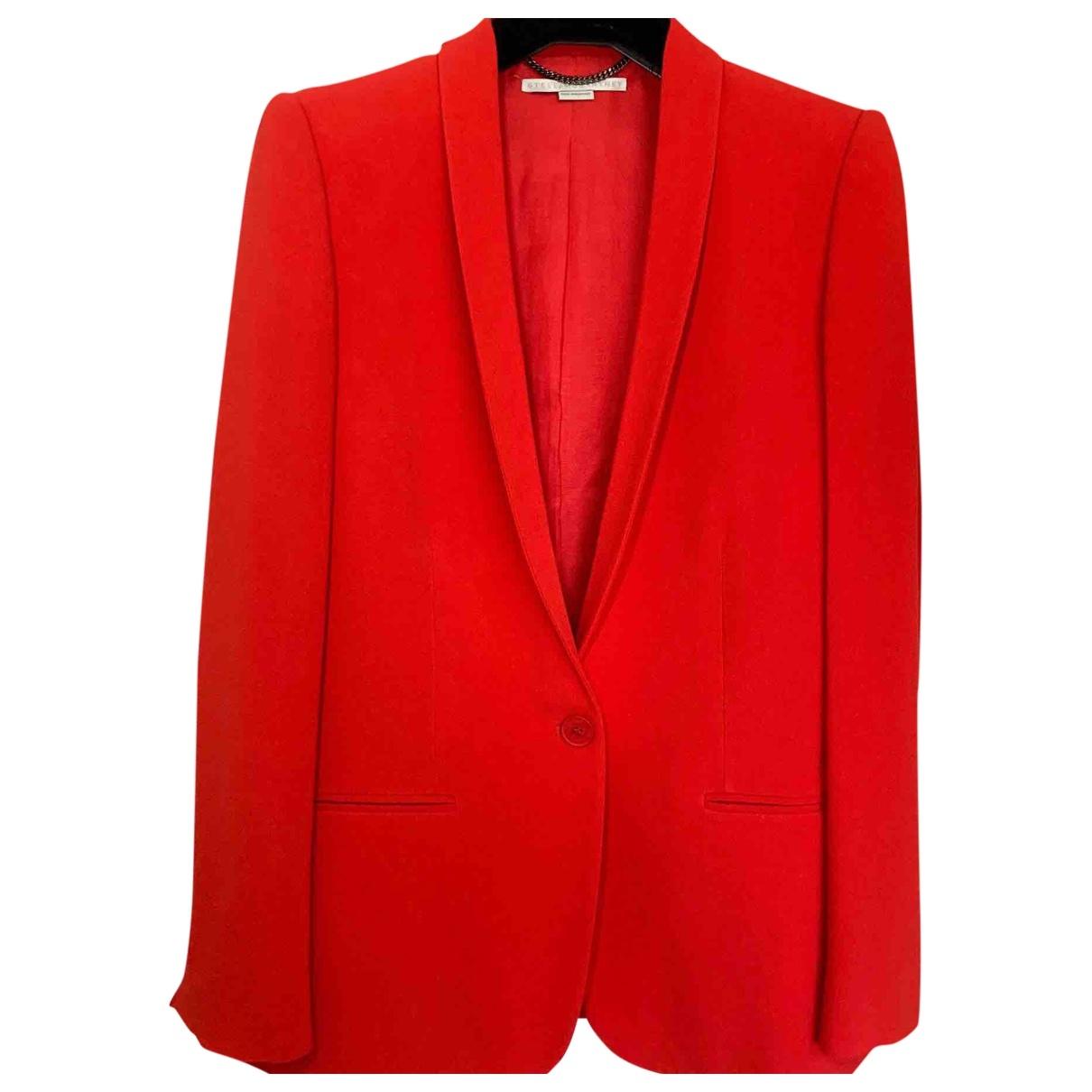 Stella Mccartney - Veste   pour femme - rouge