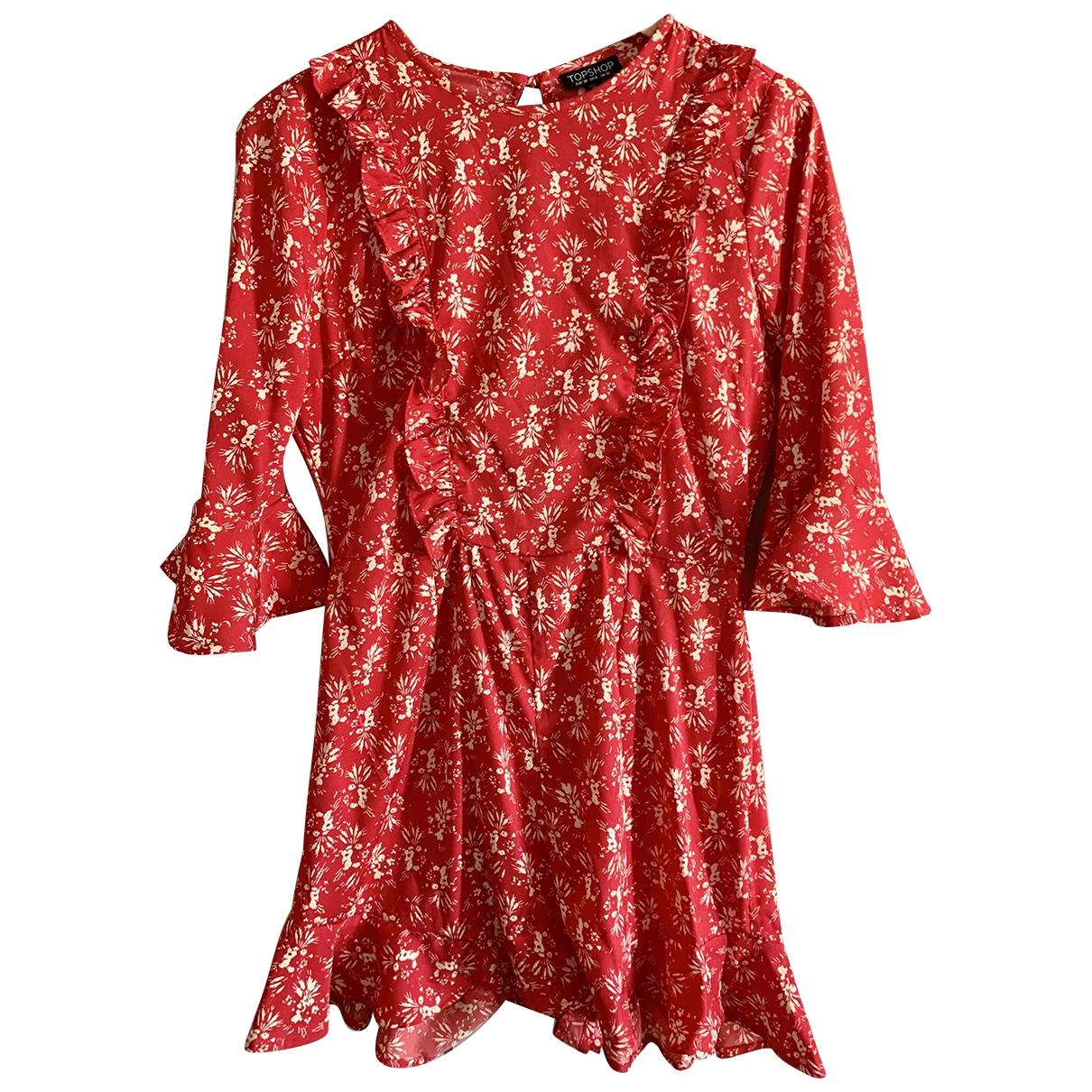 Topshop - Combinaison   pour femme - rouge