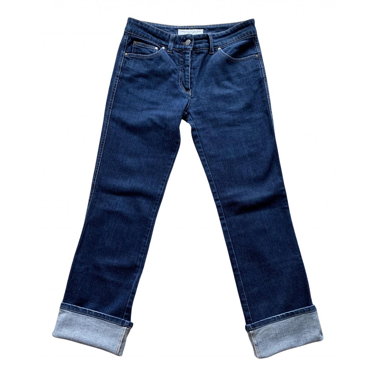 Stella Mccartney \N Blue Denim - Jeans Jeans for Women 40 FR