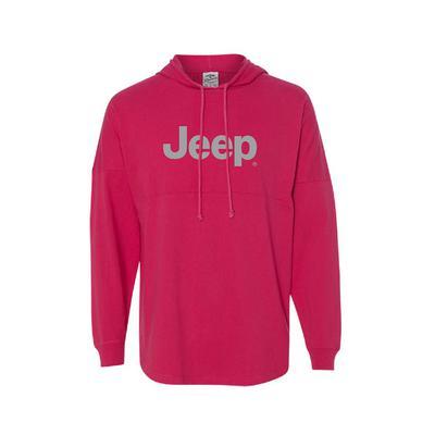 Jeep Ladies Game Day Hooded Sweatshirt (X-Large) - 127VXXL