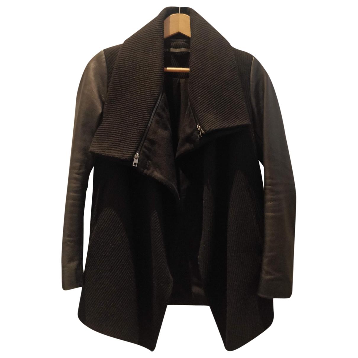 All Saints \N Black Cotton coat for Women 8 UK