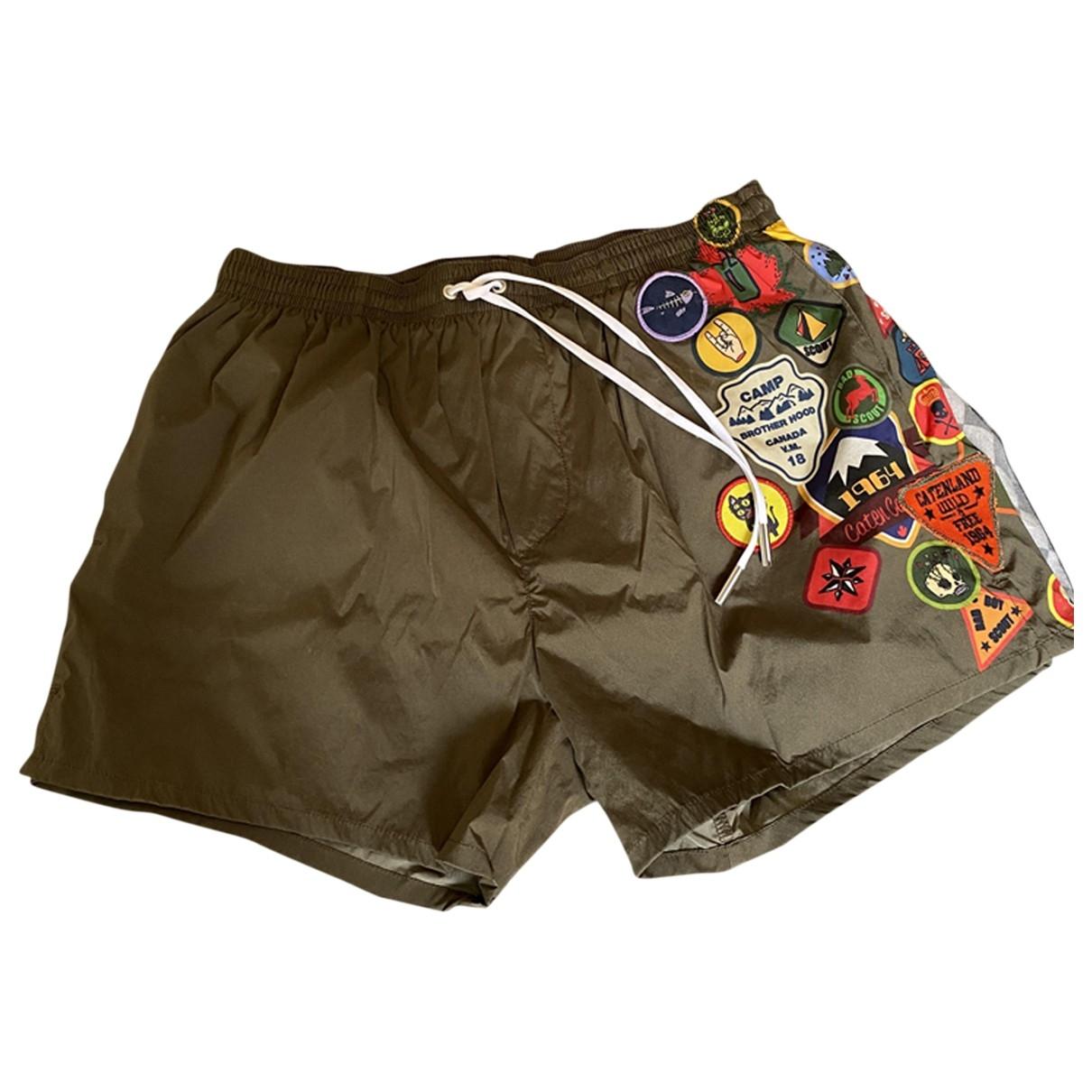 Dsquared2 \N Badeanzug in  Khaki Polyester